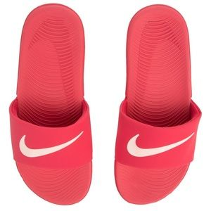 Nike Slides Neon Coral Like New
